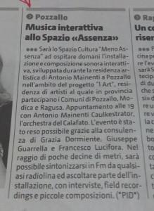 Giornale di Sicilia, 20 aprile 2015