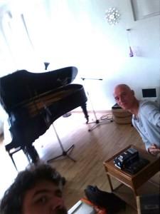 con Rinus Van Alebeek