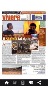 """""""Vivere"""", inserto culturale de """"La Sicilia"""". 26 maggio 2016"""